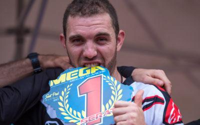Thomas Lapeyrie décroche sa première victoire à la Méga de St Paul !