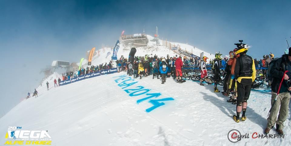 Megavalanche Alpe d'Huez 2014