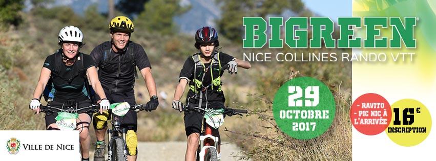Bigreen Nice Rando VTT : RDV le 29 octobre !
