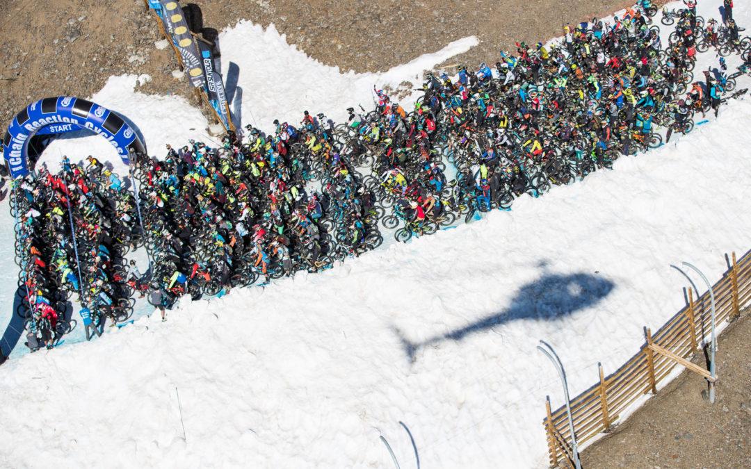 Mégavalanche Alpe d'Huez : un format condensé mais un glacier conservé !