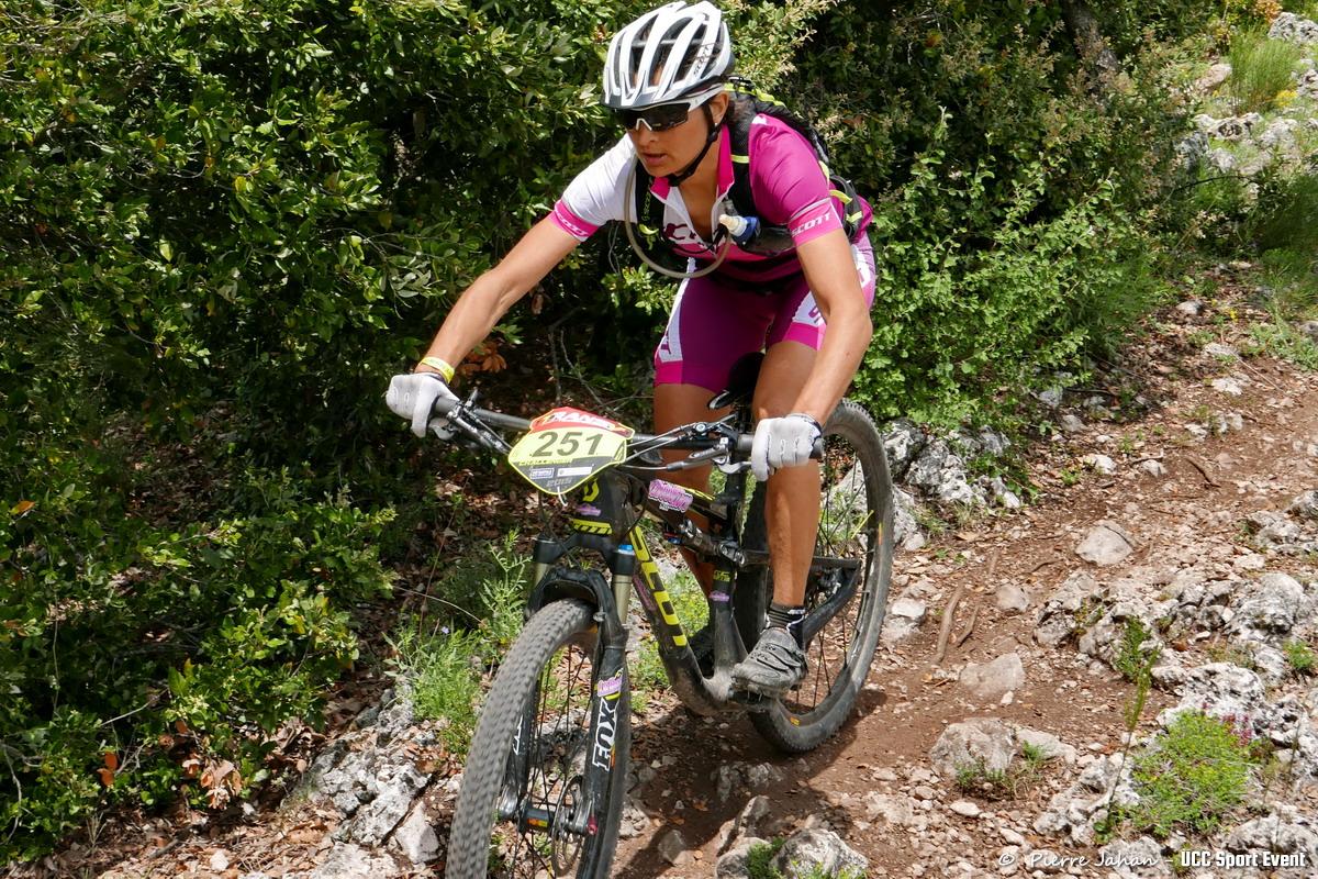 Nadine Sapin en route pour sa 4e victoire