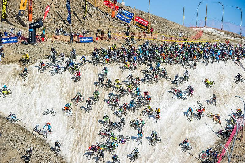 Megavalanche saturday races results