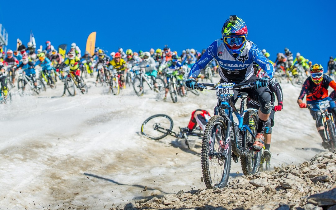 Megavalanche Alpe d'Huez: paroles de top-pilotes