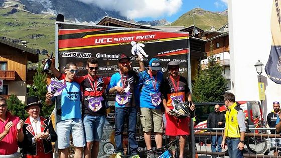 podium cervinia homme